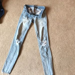 American Eagle jeggings, 00L